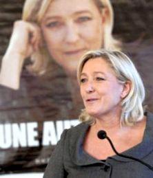 Marine Le Pen Présidente du Front National modernisé.