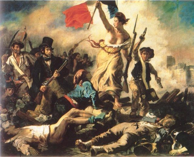 /La liberté guidant le peuple par Eugène Delacroix