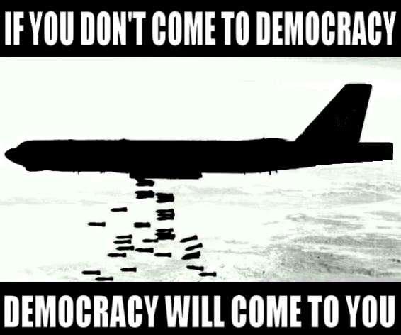 La démocratie des dirigeants étasuniens