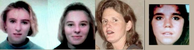 Peggy, Amelie, Isabelle et Audrey les 4 jeunes filles violées et assassinées par les frères Jourdain
