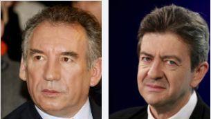 Bayrou et Mélenchon les outsiders de l'élection présidentielle française de 2012